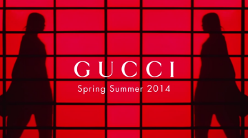 Gucci Presents The SpringSummer 2014 Campaign Film