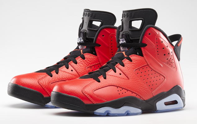 AIR JORDAN 6 RETRO 'INFRARED 23′