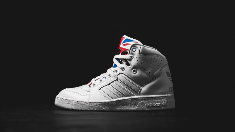 "adidas Originals Jeremy Scott Instinct Hi ""Union Jack"" Running White"