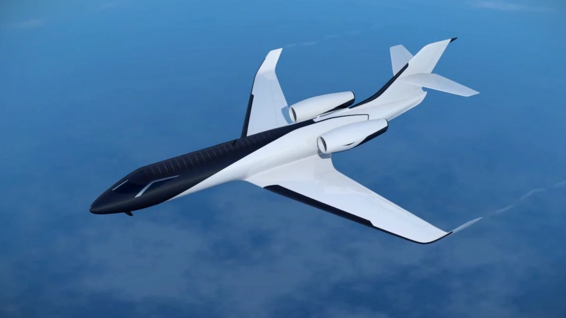 IXION Windowless Jet Concept