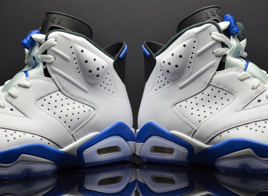 "promo code a8a40 59e46 Air Jordan 6 Retro ""Sport Blue"" 